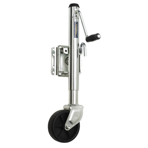 Fulton 1200 lbs. Swing Away Bolt On Single Wheel Jack [XP10 0101]