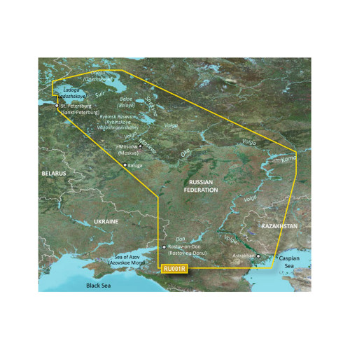 Garmin BlueChart g2 HD - HXEU062R - Russian Inland Waterways - microSD\/SD [010-C1048-20]