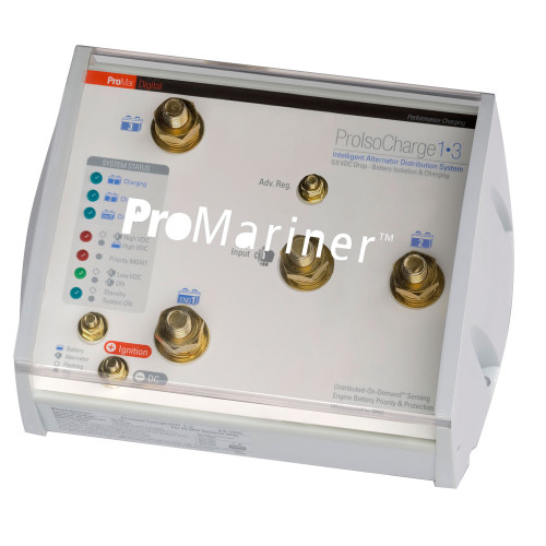 ProMariner ProIsoCharge Battery Isolator 250Amp 1-Alt 3-Bat - 12V [23126]
