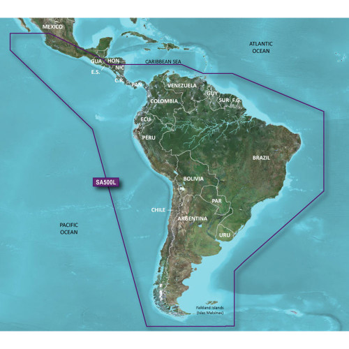 Garmin BlueChart g2 HD - HXSA600X - South America - microSD\/SD [010-C1067-20]