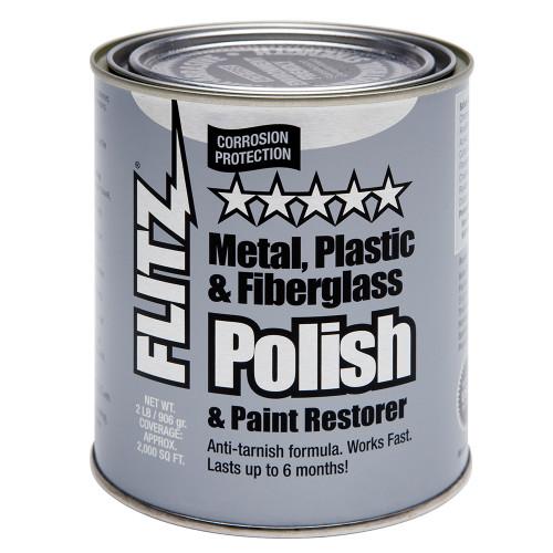 Flitz Polish - Paste - 2.0 lb. Quart Can [CA 03518-6]