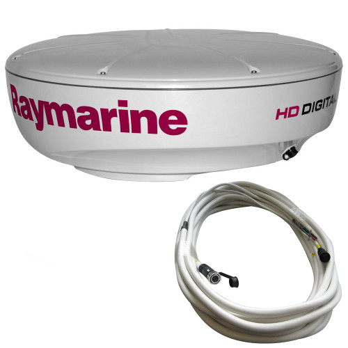Raymarine RD424HD 4kW Digital Radar Dome w\/10M Cable [T70169]