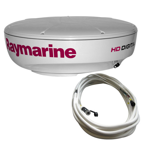 Raymarine RD418HD Hi-Def Digital Radar Dome w\/10M Cable [T70168]