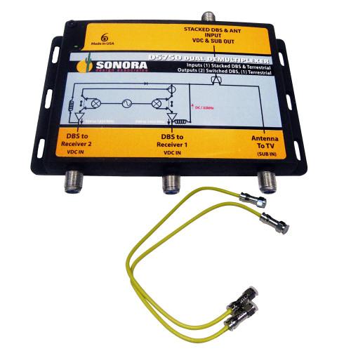 KVH Dual Output Signal Destacker [19-0410]