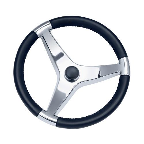 """Ongaro Evo Pro 316 Cast Stainless Steel Steering Wheel - 13.5""""Diameter [7241321FG]"""