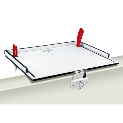 "Magma Econo Mate Bait Filet Table - 20"" - White\/Black [T10-310B]"