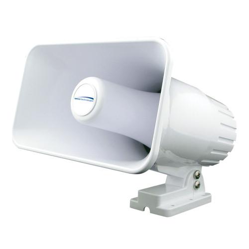 """Speco 4"""" x 6"""" Weatherproof PA Speaker Horn - White [SPC12RP]"""