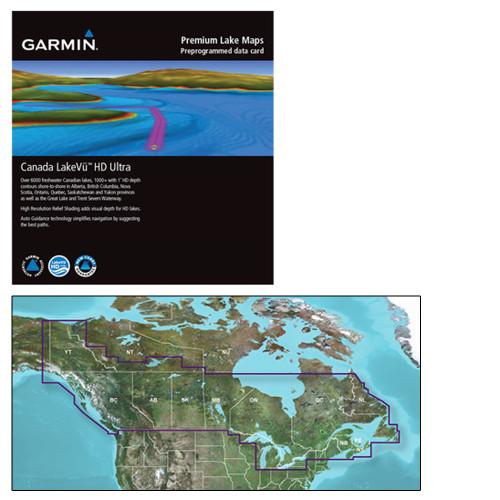 Garmin Canada LakeVu HD Ultra - microSD\/SD f\/GPSMAP & echoMAP Series [010-C1114-00]