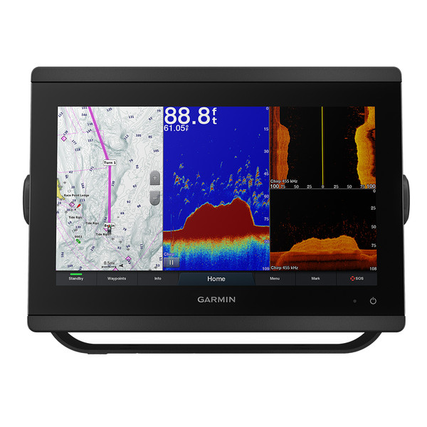 "Garmin GPSMAP 8612xsv 12"" Chartplotter\/Sounder Combo w\/Mapping  Sonar [010-02092-03]"