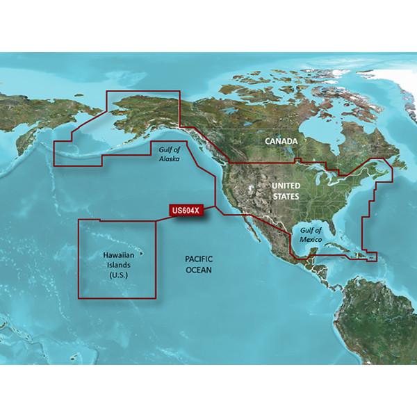 Garmin BlueChart g2 HD - HXUS604x - US All & Canadian West - microSD\/SD [010-C1018-20]