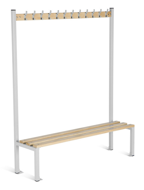 Cloakroom Equipment Island Bench Seating - Single