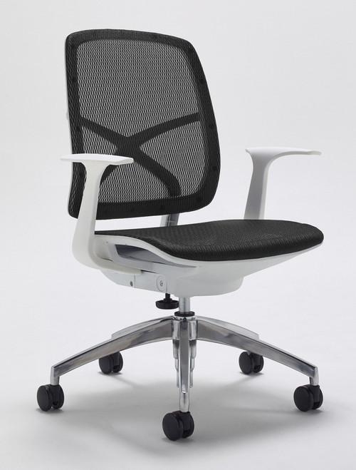 Zico Start Mesh Black & White Task Chair