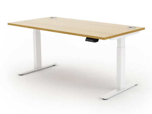 Liberty Electric Sit Stand Single Bench Desk
