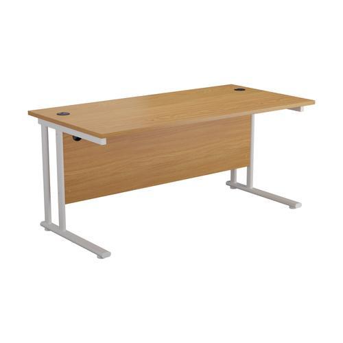 Sorrento Rectangular Workstation Desk - 600mm