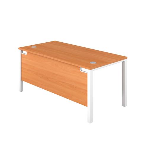 Sorrento Goal-Post Rectangular Desk - 600mm