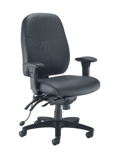 Vista High Back PU Faux Leather Operator Office Chair