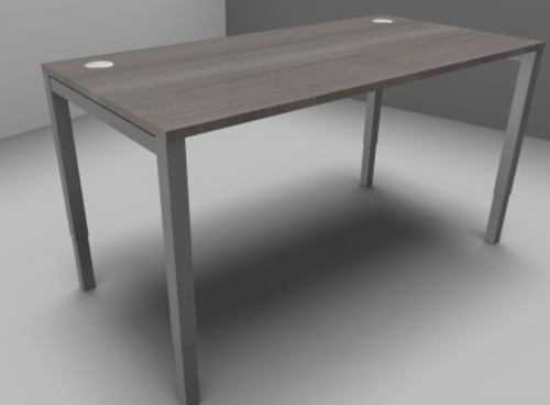 Astrolite Single Desk 700mm Deep