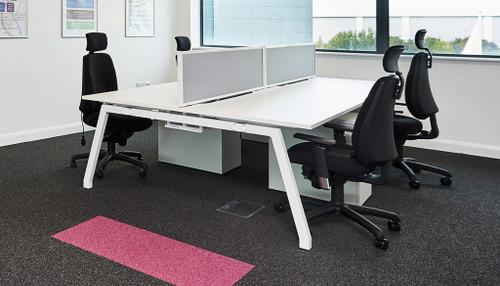 Bench Squared Rectangular Desk Table 800mm