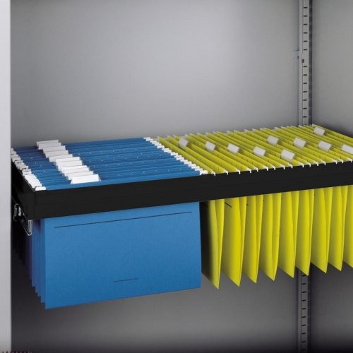 Bisley Roll Out Suspension Filing Drawer Shelf - Tambour Cupboard