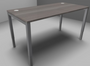 Astrolite Single Desk 800mm Deep