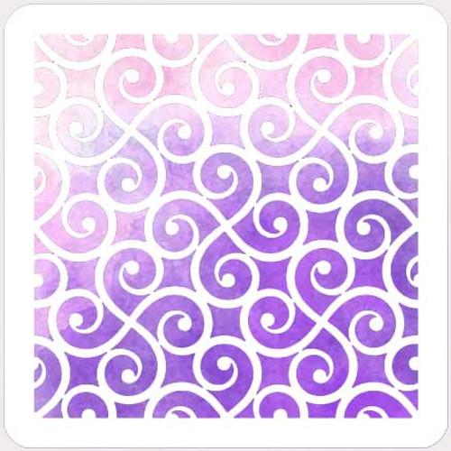 017133 - Pinwheel Scroll