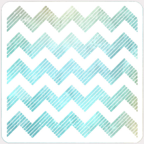 017140 - Striped Chevron