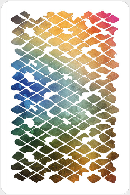 017156 - Messy Diamond Grid