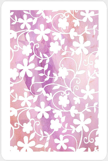 017158 - Silhouette Floral