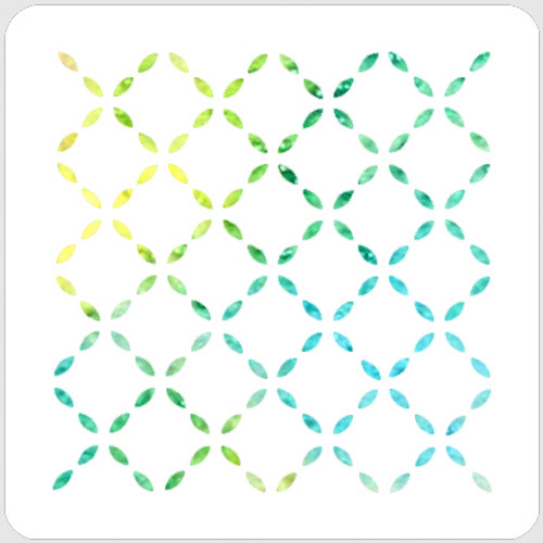 017186 - Stitched Harlequin