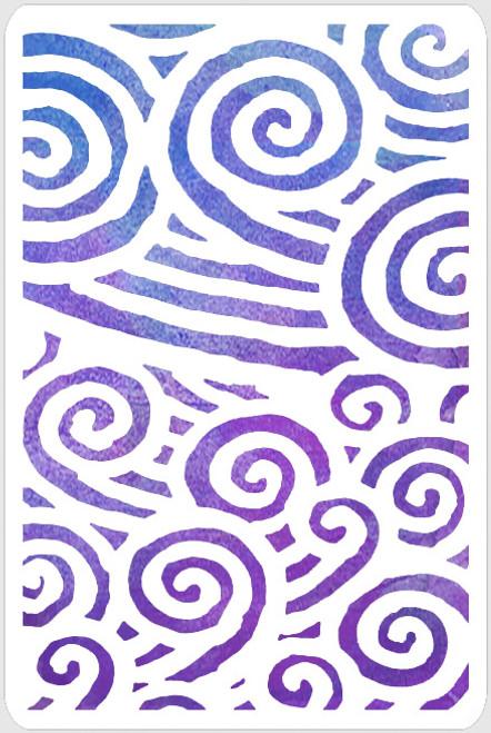 017238 - Double Swirls