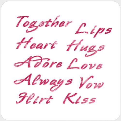 018175 - Love Words