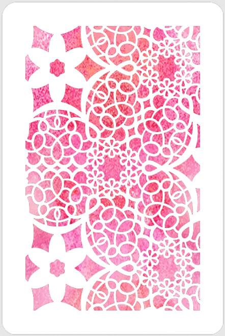 018130 - Lace Flowers