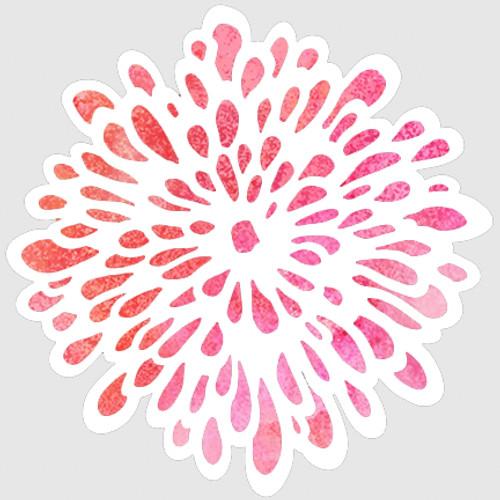 018124 Loopy Flower