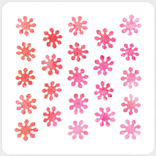 018143 - Flower Blots