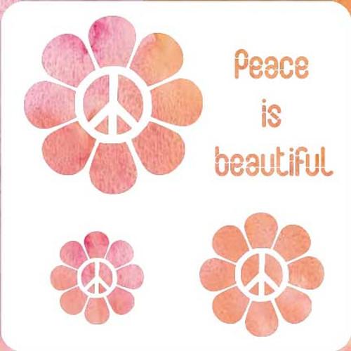 018217 - Peace Is  Beautiful
