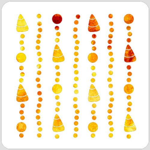 018140 - Candy Corn Garland