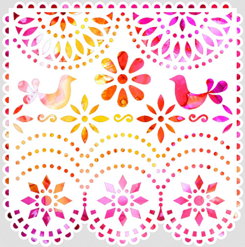 018191 - Papel Picado Bird