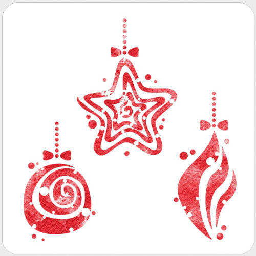 018163 - Dotty Ornaments Set 1