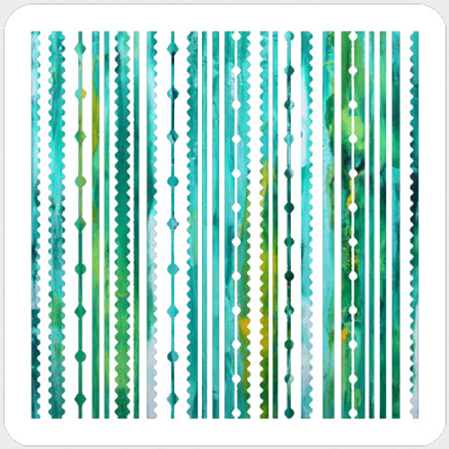 018196 - Festive Stripes