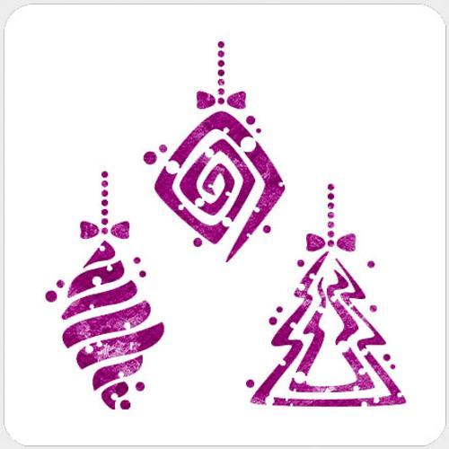 018203 - Dotty Ornaments Set 2