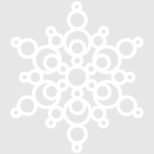 018221 - Bubble Snowflake