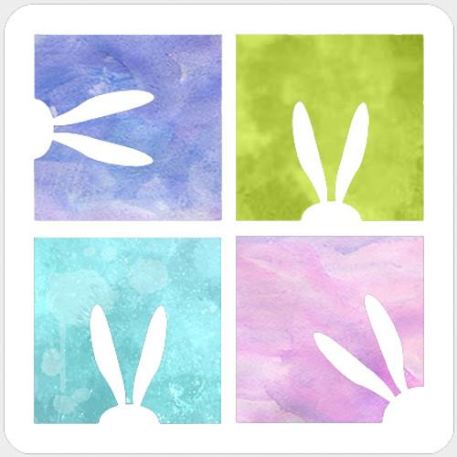 019118 - Peeking Bunny