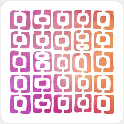 019127 - Mid Century Squares