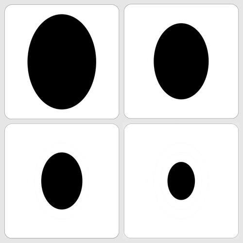 019124 - Marvelous Masks Ovals