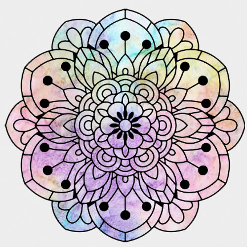 019142 - Bloom Mandala