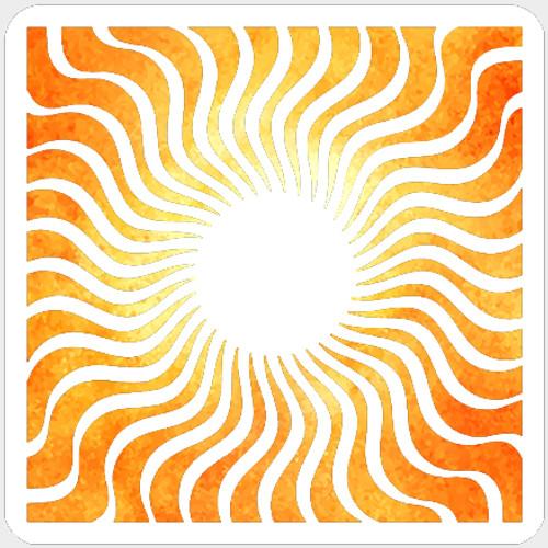 019201 - Wavy Rays