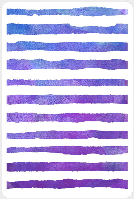 019203 - Watercolor Stripes