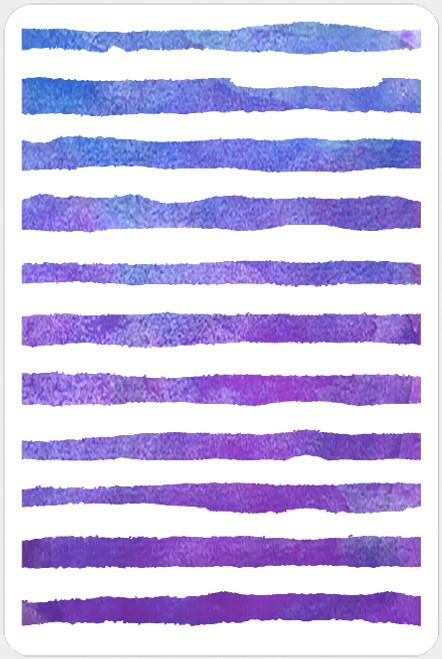 019203 - Watercolor Stripes