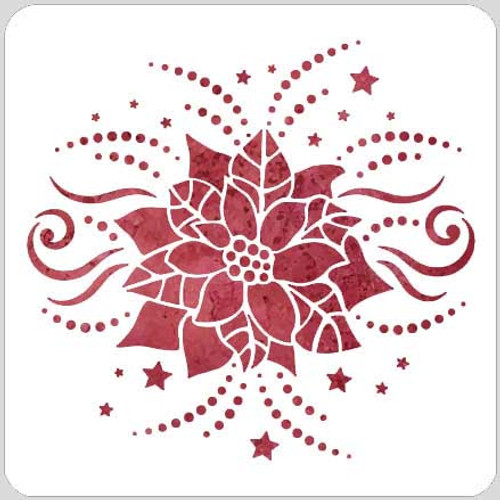 019223 - Poinsettia Bling