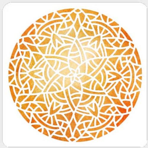 019230 - Angular Mandala